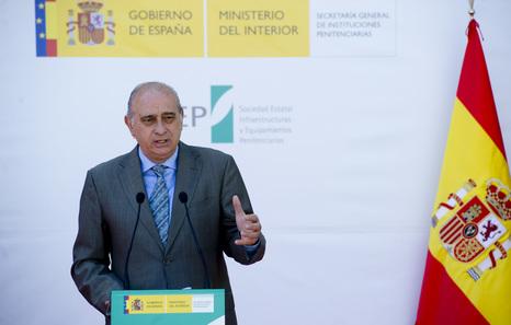 El ministro de interior espa ol cree que el cese de la for Ministro del interior espanol