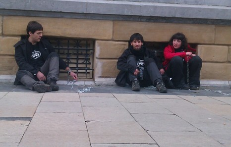Festnahmen nach Demo im Baskenland wegen SEGI
