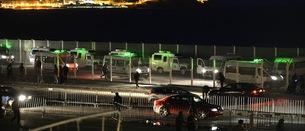 Zona fronteriza entre Marruecos y el Estado español. (Fadel SENNA/AFP PHOTO)