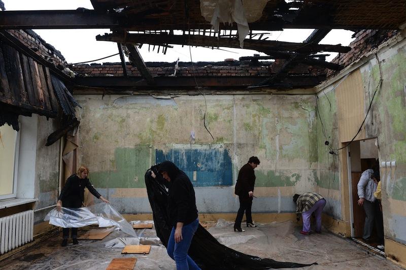 Resultado de imagen para putin invasion ucrania ESCUELAS DESTRUIDAS