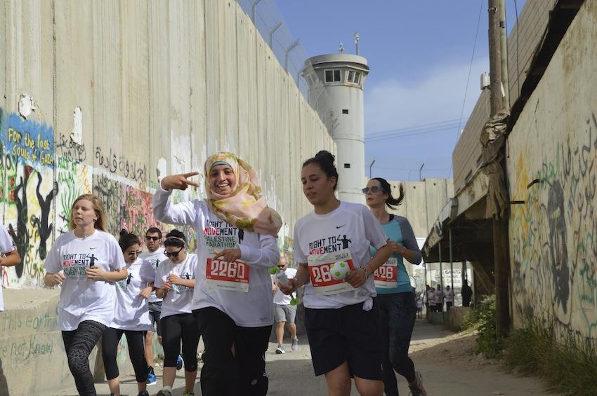Maratón de Palestina: una maratón para derribar el muro