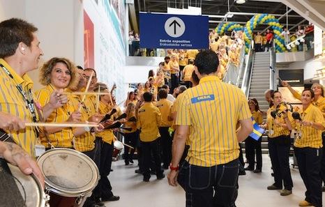 Ikea abre sus puertas en Baiona entre polémicas «por la