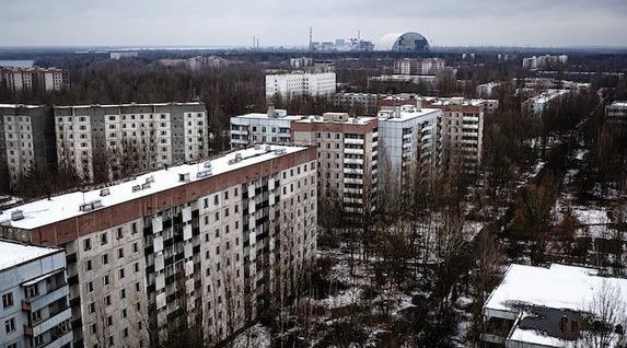 Chernóbil, radiactividad nuclear décadas después [infografía animada]. Cherno-19