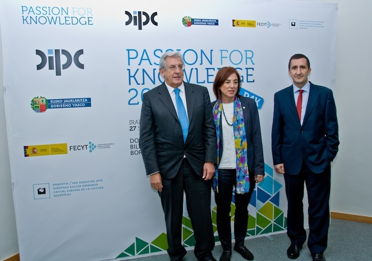 Presentación del Passion for Knowledge 2016.