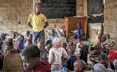 Talibés»: estudiantes sin presente ni futuro | Reportajes | 7K - zazpika  astekaria
