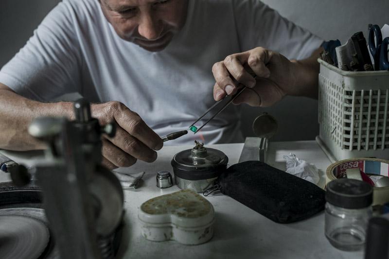 Colombia. «Guaqueros», mineros de piedras preciosas: esmeraldas ... 945_OROverde08