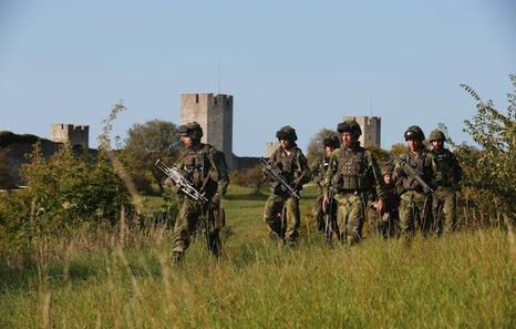 Resultado de imagen para Suecia restableció el servicio militar obligatorio