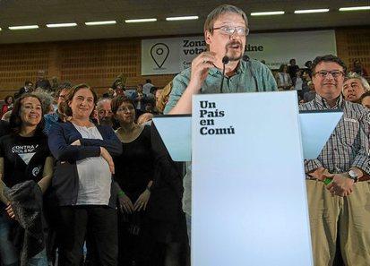 Catalunya en Comú, nuevo partido en la izquierda del sistema. 0414_eg_Colau2
