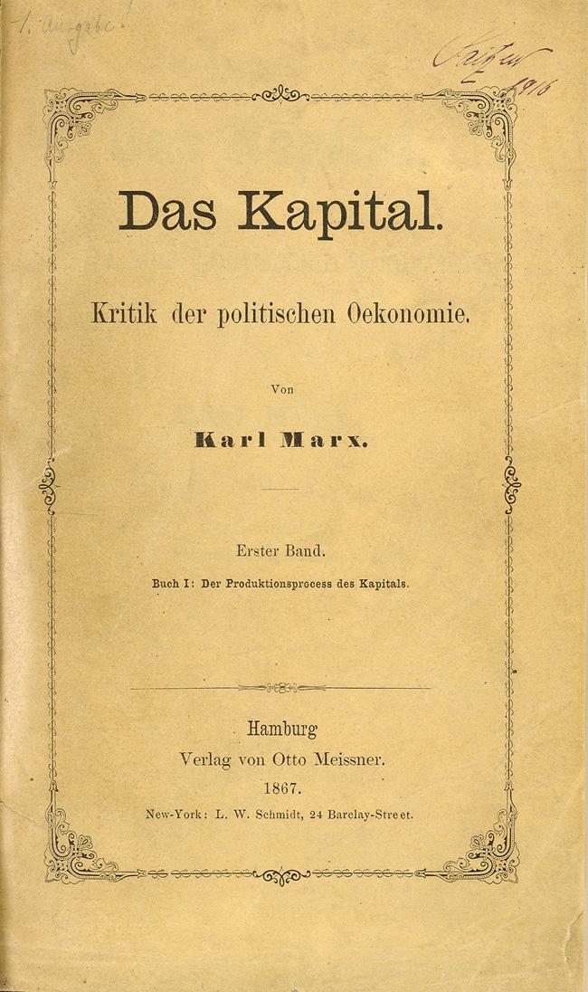 """""""El Capital"""", Karl Marx. Traducciones en castellano descargables, on-line y en papel. 953_marx1"""