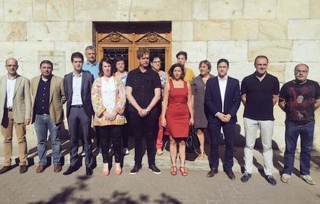 Euskal Herria: La juez Carmen Lamela de la Audiencia Nacional ordena encarcelar a seis vecinos de Altsasu. Altsasu