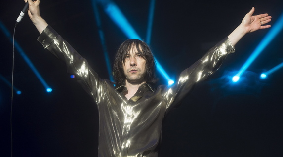 Primal Scream durante su actuación del sábado. (Monika DEL VALLE / ARGAZKI PRESS)