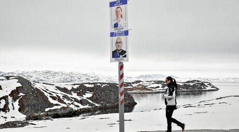 Groenlandia, fuera de la Unión Europea, dentro de Dinamarca: Votaciones. 0425_mun_groenlandia