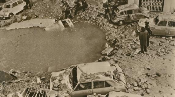 Carrero Blanco almirantearen aurkako atentatua 1973ko abenduaren 20an Madrilen. Espainiako gobernuko presidentea zen eta Francoren ondorengoa izango zela iragarria zuten. Espainiako Gobernua