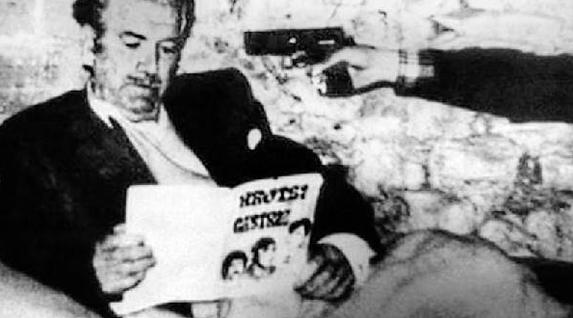 Angel Berazadiren bahiketa, ETA pm-ren eskutik 1976an. Bahitutako lehen hildakoa izan zen.