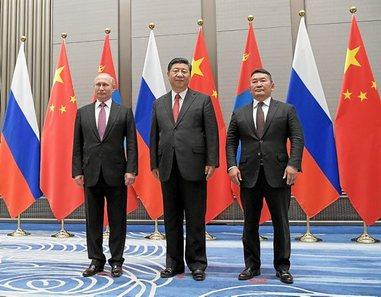 Organización de Cooperación de Shanghai. India y Pakistán se integran en la OCS. China da la bienvenida. 0610_mun_CHINA