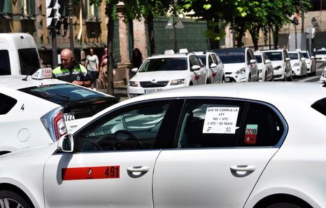 Taxistas De Gipuzkoa Bizkaia Araba Y Nafarroa Se Suman A