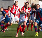 Un momento del partido entre el Levante y el Athletic. (ATHLETIC)