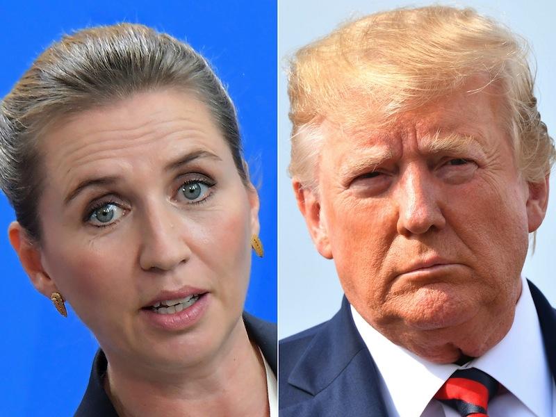 Indignación en los políticos daneses tras la prepotencia de Trump con Groenlandia