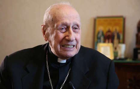 Cardinal_roger_etchegaray_speaks_with_cna_in_rome_on_oct_17_2014_credit_daniel_ibanez_cna_cna_10_17_14