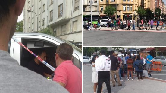 Eragin denuncia que subcontratas del BBK Live pagan los salarios desde una furgoneta en San Mamés