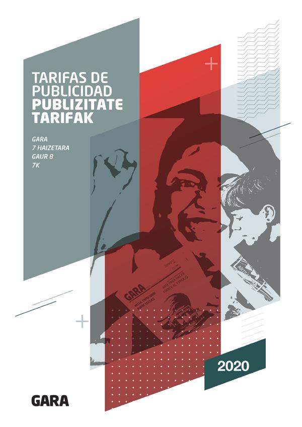 GARA publizitate tarifak 2020