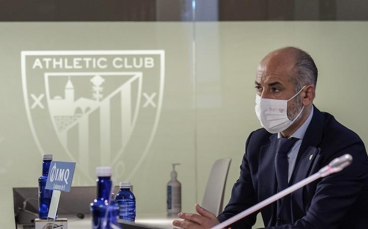 El segundo examen de Aitor Elizegi ante los socios llega en el momento más  delicado | Athletic | Naiz