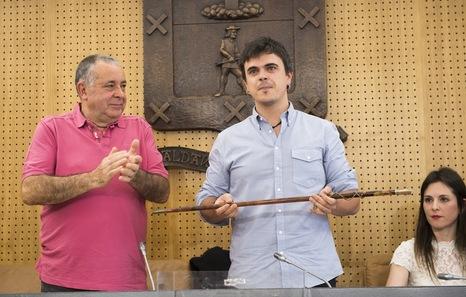 El alcalde de Galdakao ve «decepcionante» que el proyecto del metro penda de fondos europeos