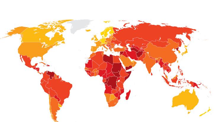 Ranking de la corrupcion: en que puesto se ubica la argentina?