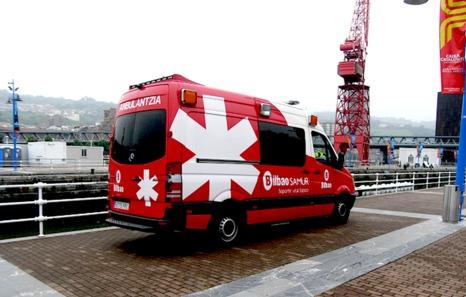 La ambulancia municipal de Bilbo vuelve a quedarse sin servicio por falta de personal