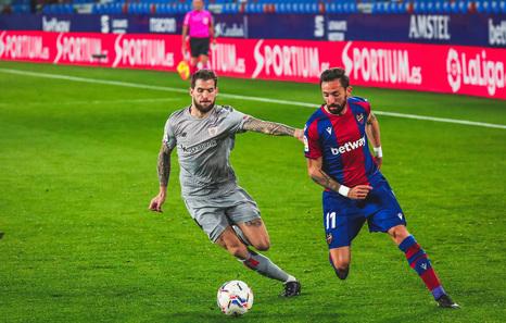 Denegada la cautelar a Iñigo Martínez, que no podrá jugar ante el Levante