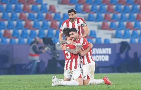 Marcelino: «Estos jugadores han entrado en la historia del Athletic Club»