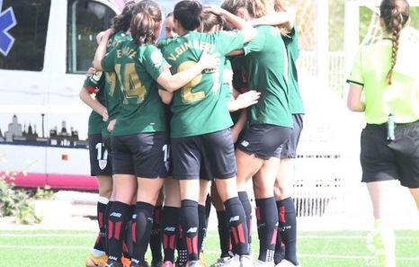 El Athletic celebra un triunfo revitalizante en Vallecas con un hat-trick de Lucía García (2-3)