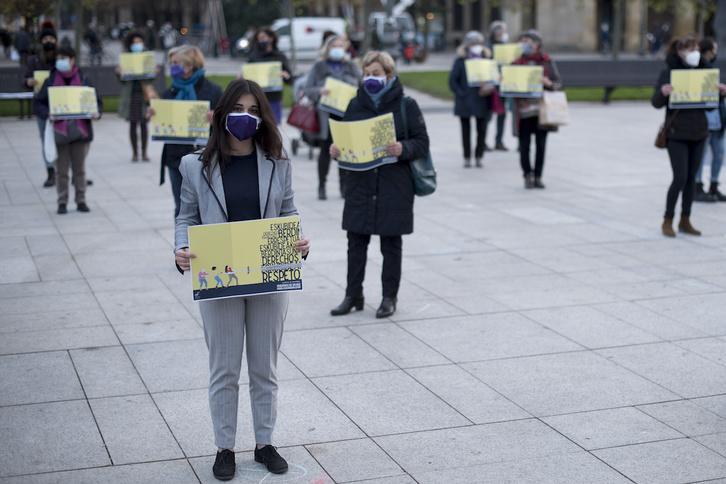 Condenado a siete años un vigilante de seguridad por intentar matar a su mujer en Portugalete