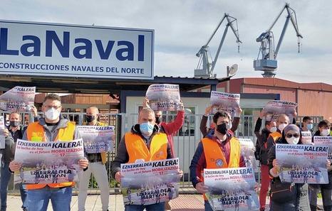 Una nueva manifestación denunciará el sábado la desindustrialización de Ezkerraldea