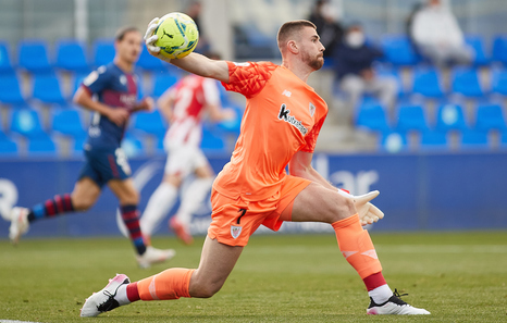 Merecida derrota del Athletic en Huesca tras otro error de Unai Simón (1-0)