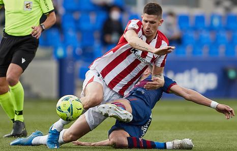 Marcelino admite que el Huesca ha superado al Athletic y que ha merecido la victoria