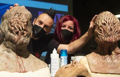 Gorka Aguirre: «Para hacer efectos especiales hay que leer libros hasta de Medicina Forense»