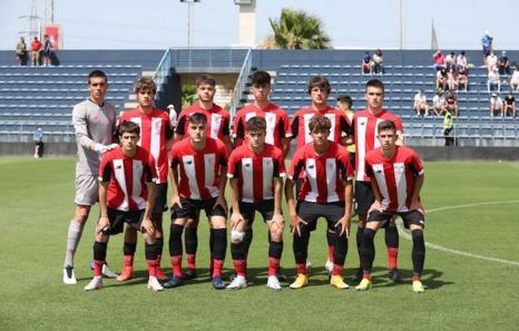El Athletic juvenil no puede con un Málaga superior en la Copa de Campeones (2-0)