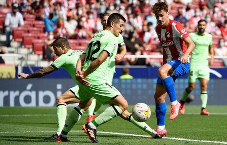 A falta de puntería, la defensa del Athletic ratifica su fortaleza en casa del Atlético (0-0)