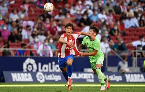 Marcelino se queda contento con el empate, pero lamenta las dos claras ocasiones falladas