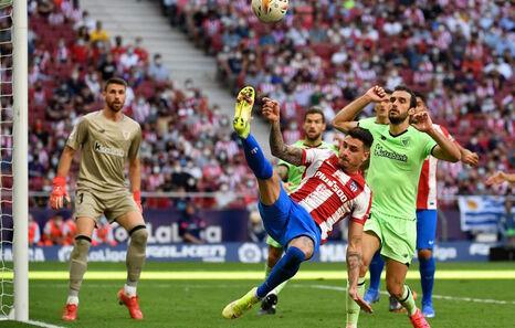 El Athletic de Marcelino calca el balance defensivo con Garitano de hace dos años