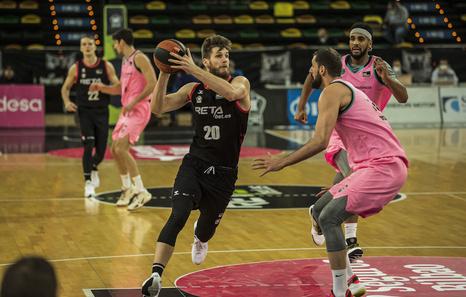 Miniotas (Bilbao Basket): «No hay que poner excusas, hay que mirar hacia adelante»